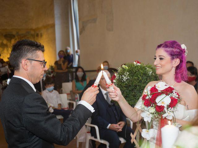 Il matrimonio di Diana e Massimo a Gaggiano, Milano 32