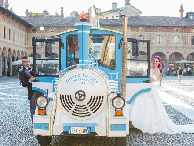 Il matrimonio di Diana e Massimo a Gaggiano, Milano 34