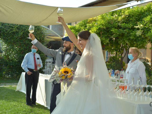 Il matrimonio di Matteo e Erica a Pontenure, Piacenza 57