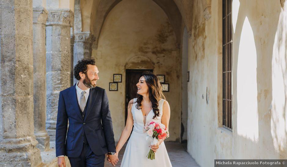 Il matrimonio di Antoine e Rosa a Sorrento, Napoli