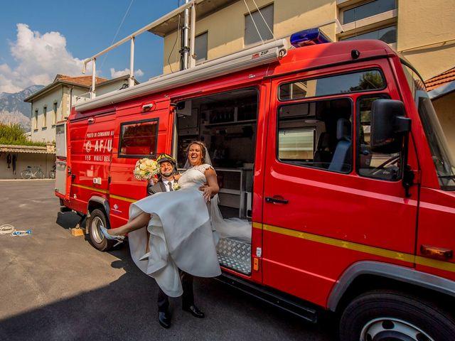 Il matrimonio di Massimo e Valentina a Lecco, Lecco 41