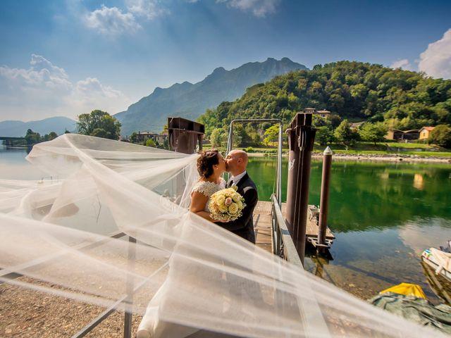 Il matrimonio di Massimo e Valentina a Lecco, Lecco 43