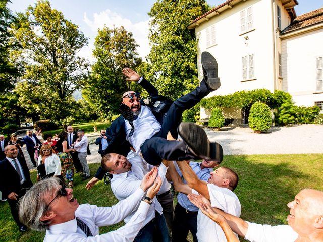 Il matrimonio di Massimo e Valentina a Lecco, Lecco 56