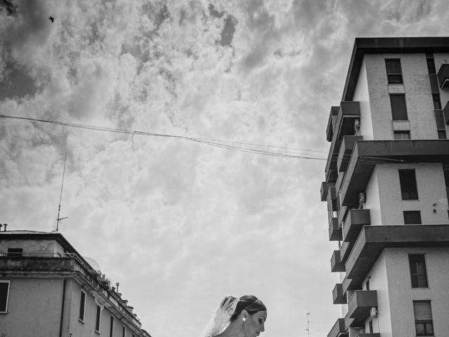 Il matrimonio di Alessandro e Veronica a San Giuliano Milanese, Milano 1
