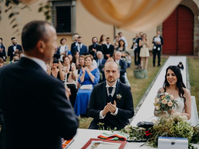 Il matrimonio di Silvia e Lorenzo a Poggio a Caiano, Prato 38