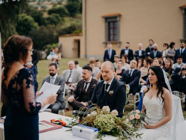 Il matrimonio di Silvia e Lorenzo a Poggio a Caiano, Prato 40