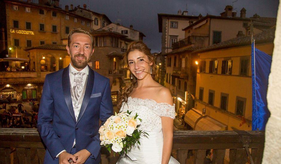 Il matrimonio di Cyril e Laura a Pergo di Cortona, Arezzo