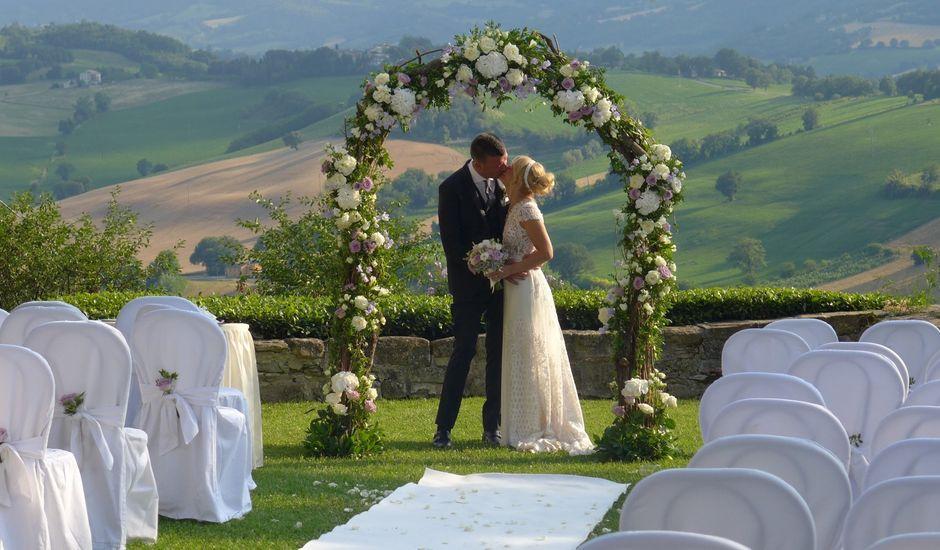 Il matrimonio di Marco e Alice a Camerino, Macerata