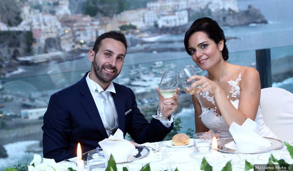 Il matrimonio di Pietro e Simona a Amalfi, Salerno
