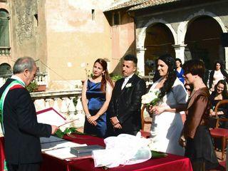 Le nozze di Monica e Alban  2