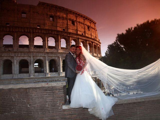 Il matrimonio di Massimiliano e Eliana a Roma, Roma 23