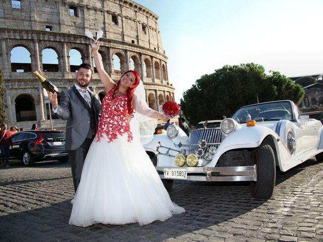 Il matrimonio di Massimiliano e Eliana a Roma, Roma 25