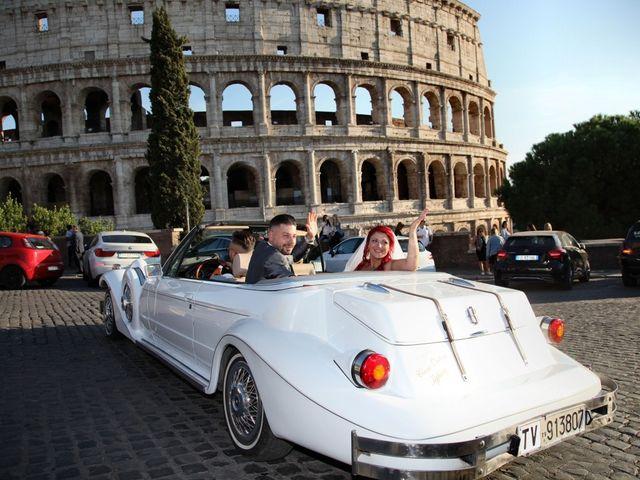 Il matrimonio di Massimiliano e Eliana a Roma, Roma 26