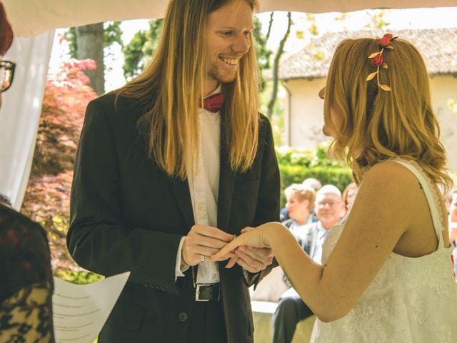 Il matrimonio di Stuart e Laura a Oviglio, Alessandria 32