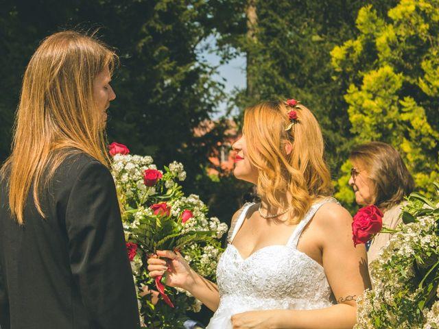Il matrimonio di Stuart e Laura a Oviglio, Alessandria 37