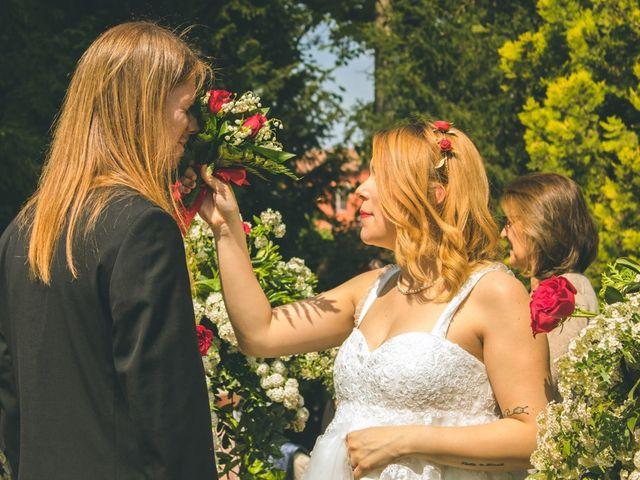Il matrimonio di Stuart e Laura a Oviglio, Alessandria 38