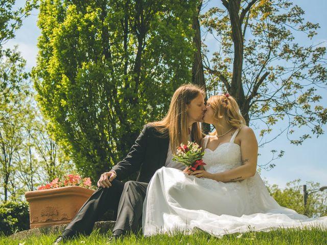 Il matrimonio di Stuart e Laura a Oviglio, Alessandria 43