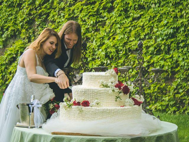 Il matrimonio di Stuart e Laura a Oviglio, Alessandria 53