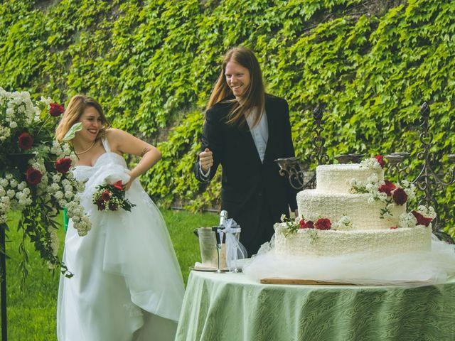 Il matrimonio di Stuart e Laura a Oviglio, Alessandria 54