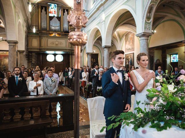 Il matrimonio di Benoit e Tina a Varese, Varese 45