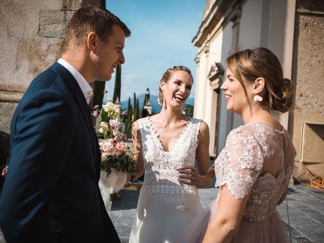 Il matrimonio di Benoit e Tina a Varese, Varese 53