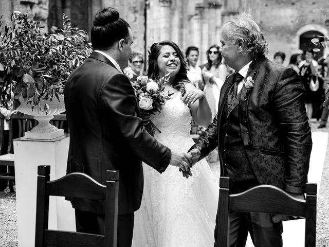 Il matrimonio di Iacopo e Giulia a Chiusdino, Siena 37