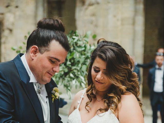 Il matrimonio di Iacopo e Giulia a Chiusdino, Siena 43