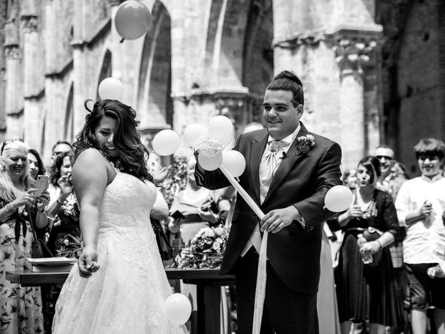 Il matrimonio di Iacopo e Giulia a Chiusdino, Siena 54