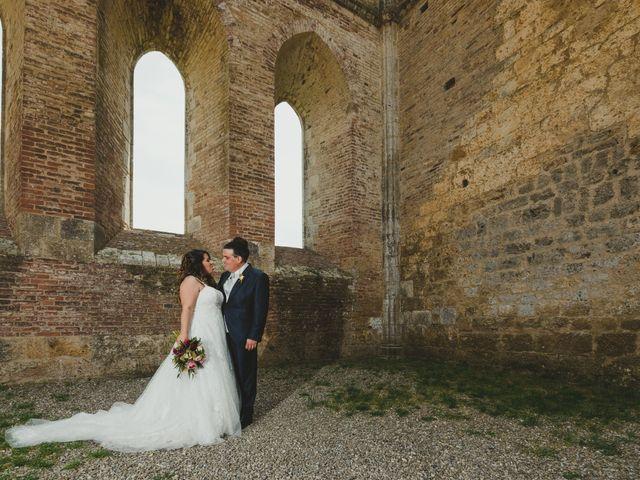 Il matrimonio di Iacopo e Giulia a Chiusdino, Siena 64