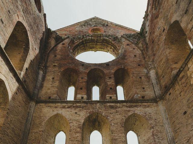 Il matrimonio di Iacopo e Giulia a Chiusdino, Siena 65