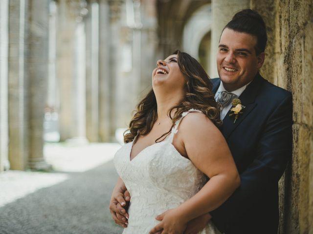 Il matrimonio di Iacopo e Giulia a Chiusdino, Siena 1