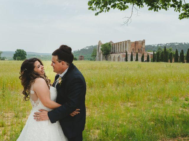 Il matrimonio di Iacopo e Giulia a Chiusdino, Siena 70