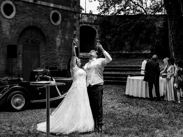 Il matrimonio di Iacopo e Giulia a Chiusdino, Siena 80