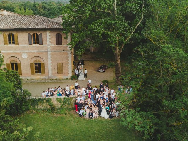 Il matrimonio di Iacopo e Giulia a Chiusdino, Siena 104