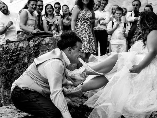 Il matrimonio di Iacopo e Giulia a Chiusdino, Siena 108