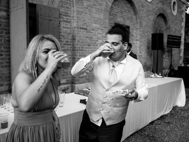 Il matrimonio di Iacopo e Giulia a Chiusdino, Siena 112