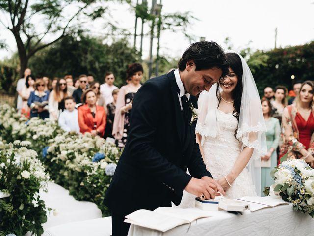 Il matrimonio di Lorena e Giuseppe a Acireale, Catania 41
