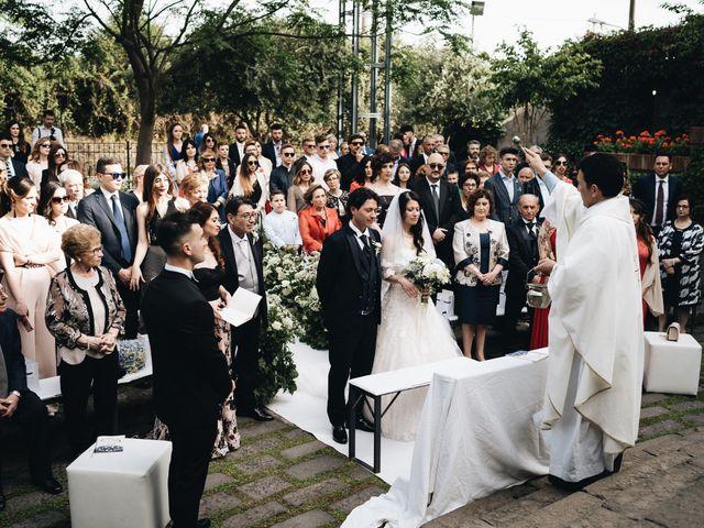 Il matrimonio di Lorena e Giuseppe a Acireale, Catania 46