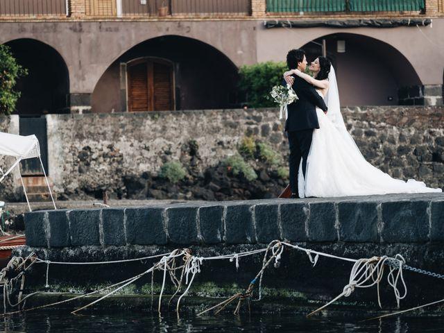 Il matrimonio di Lorena e Giuseppe a Acireale, Catania 55