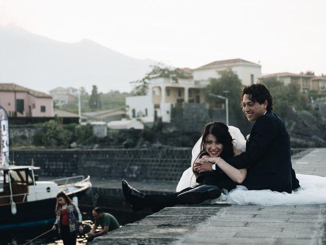 Il matrimonio di Lorena e Giuseppe a Acireale, Catania 62