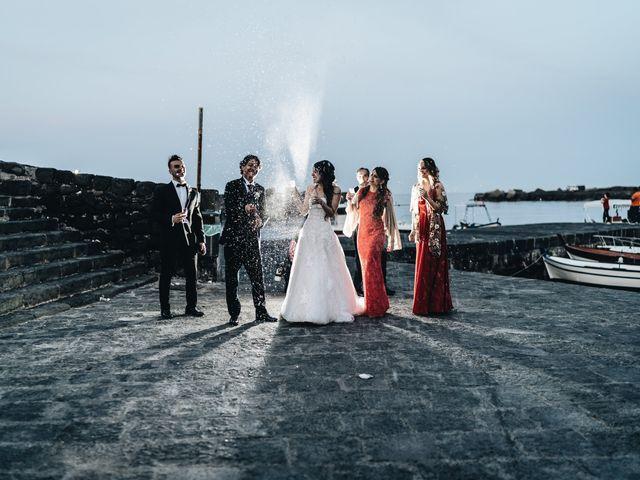 Il matrimonio di Lorena e Giuseppe a Acireale, Catania 67