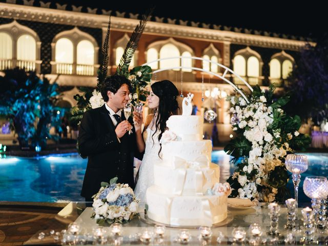 Il matrimonio di Lorena e Giuseppe a Acireale, Catania 86