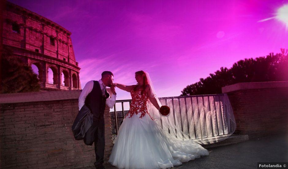 Il matrimonio di Massimiliano e Eliana a Roma, Roma