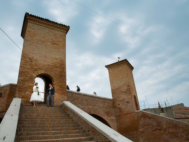 Il matrimonio di William e Melissa a Comacchio, Ferrara 28