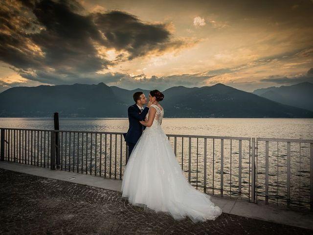 Il matrimonio di Emanuele e Monica a Luino, Varese 23