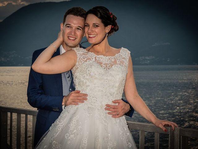 Il matrimonio di Emanuele e Monica a Luino, Varese 25
