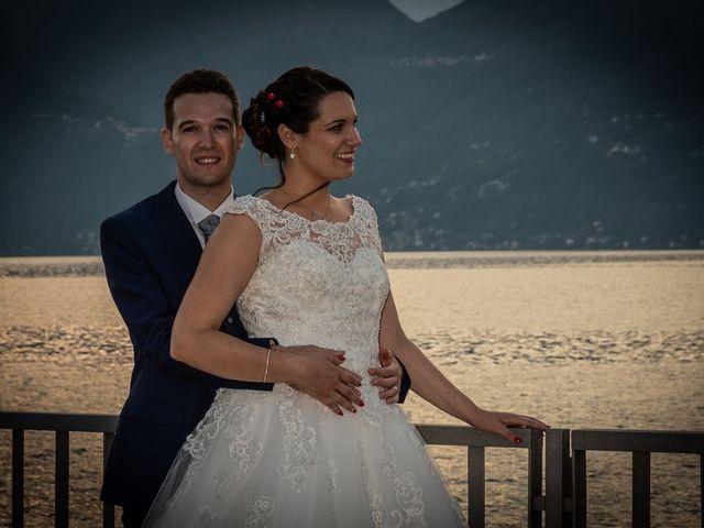 Il matrimonio di Emanuele e Monica a Luino, Varese 26