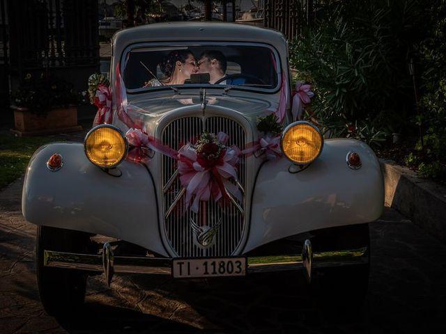 Il matrimonio di Emanuele e Monica a Luino, Varese 30