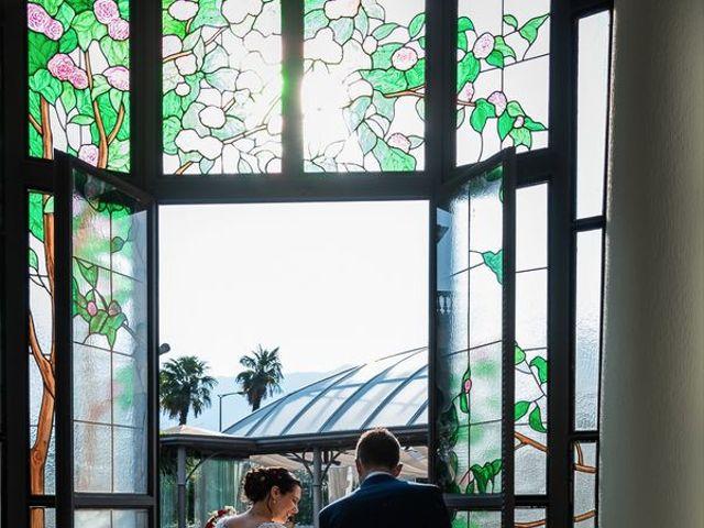 Il matrimonio di Emanuele e Monica a Luino, Varese 32