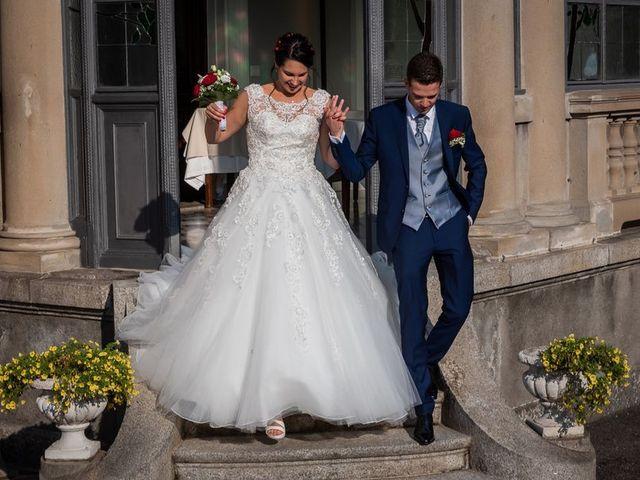 Il matrimonio di Emanuele e Monica a Luino, Varese 36